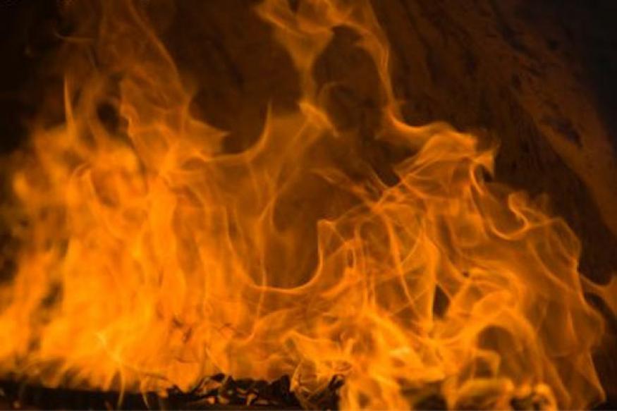 Fire in Kolkata's Burrabazar market
