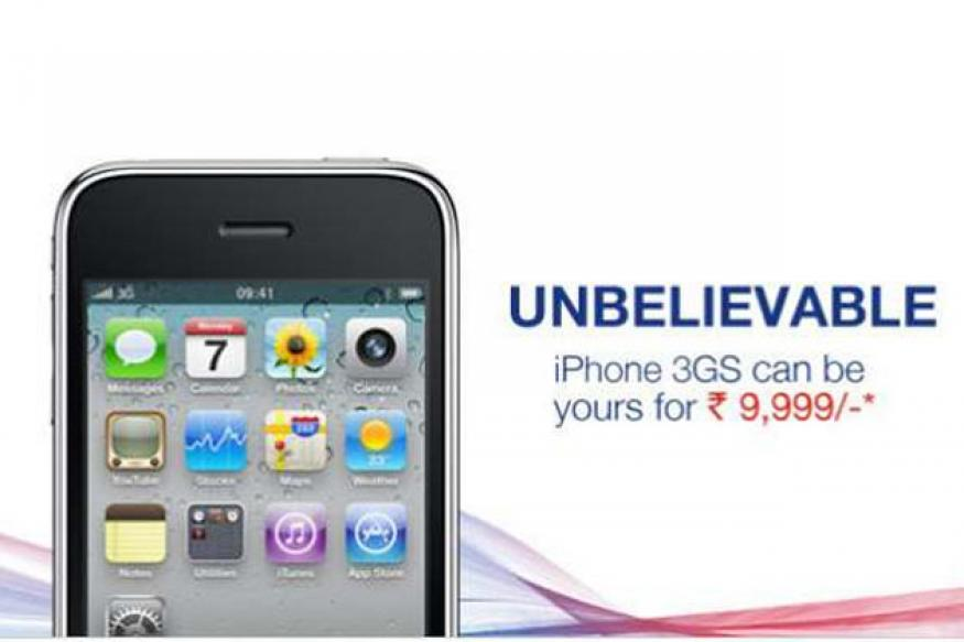 Apple iPhone 3GS now available for Rs 9,999