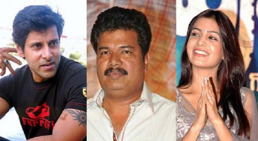 Shankar's next Tamil movie 'I' hits the floor