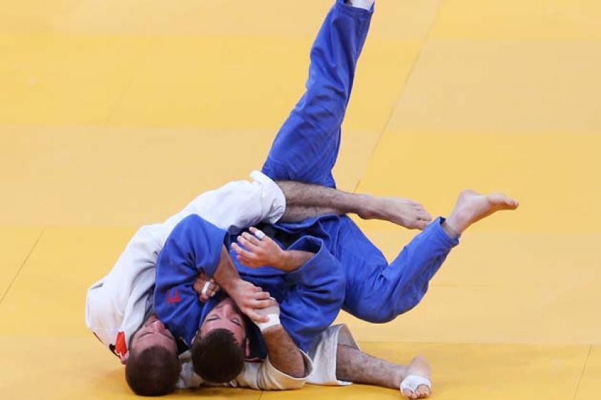 Judoka Garima Choudhary crashes out