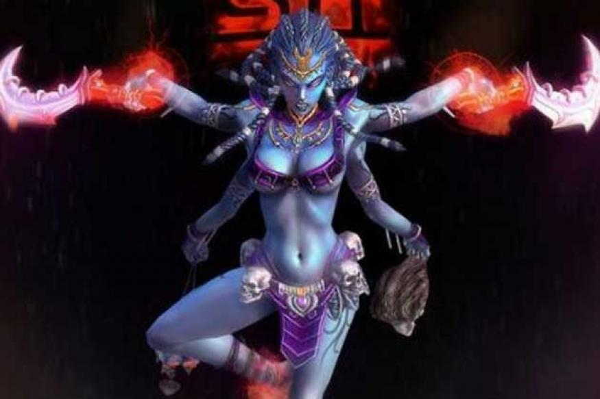 'Porno' depiction of Kali in game leads to protest