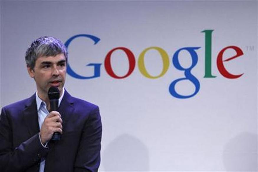 Google CEO Larry Page recovering, attends office