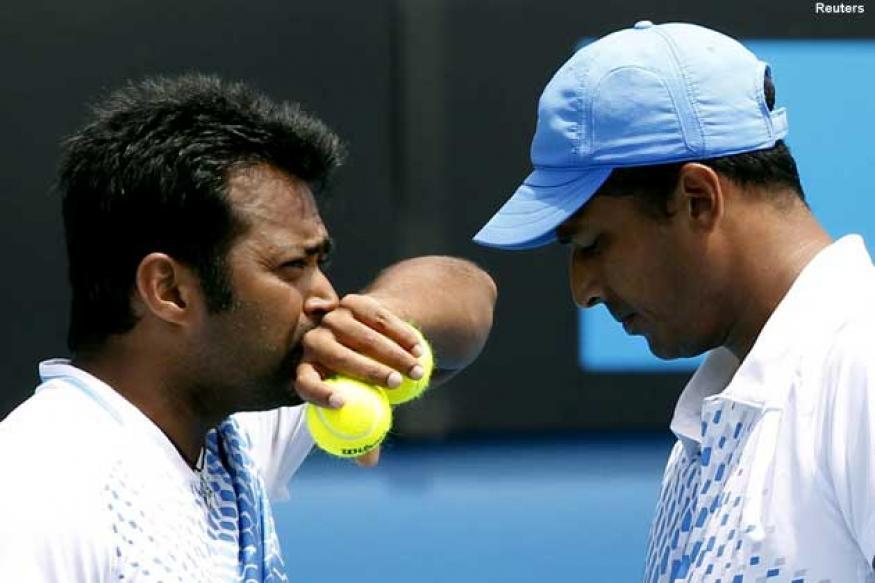 Warring tennis stars face tough test in London
