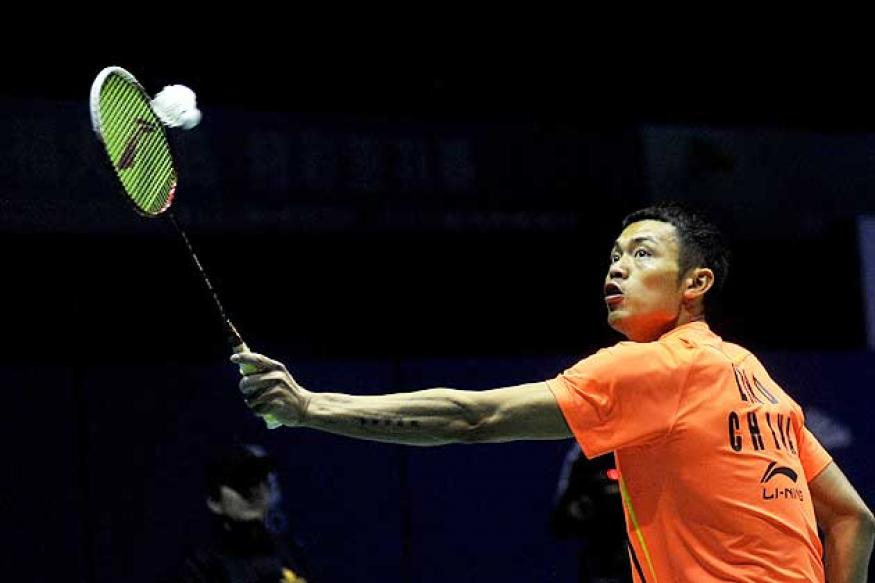 Lin Dan seeded 2nd for Olympic badminton draw