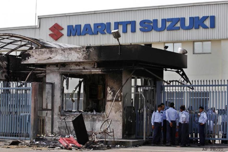 Maruti Suzuki's statement on Manesar unrest