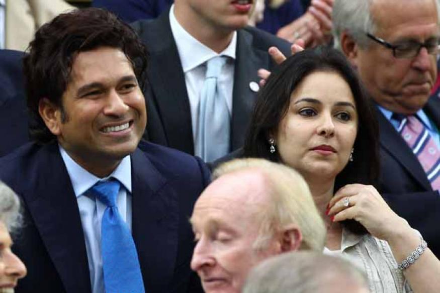 Tendulkar watches Federer-Djokovic match