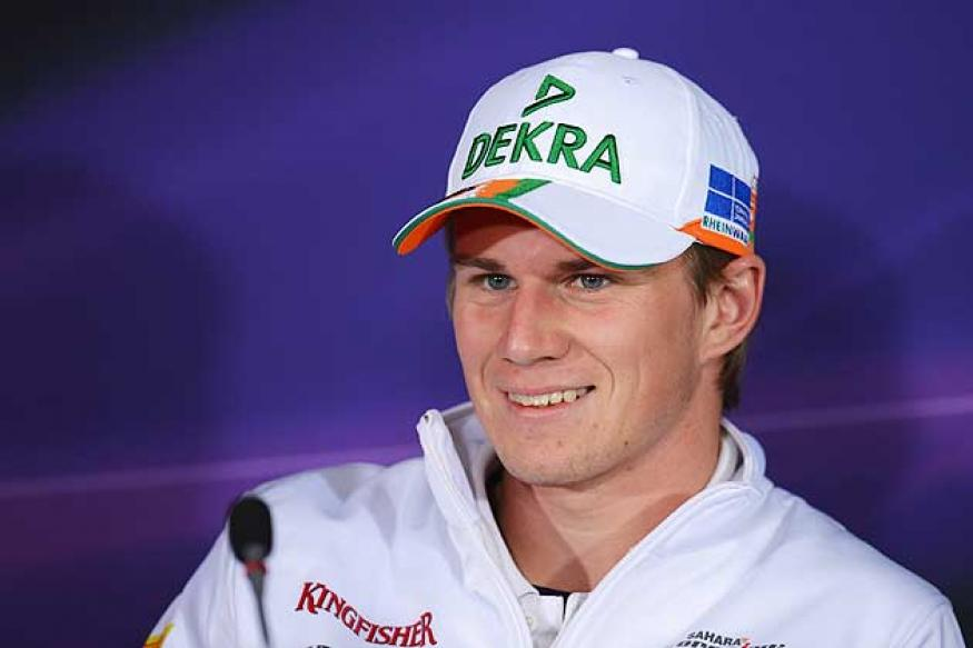 Force India's Hulkenberg 5th fastest in Germany