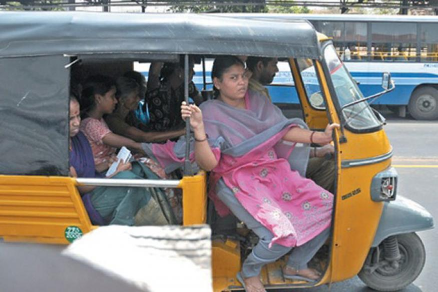 Chennai: No action yet against overloading shared autos