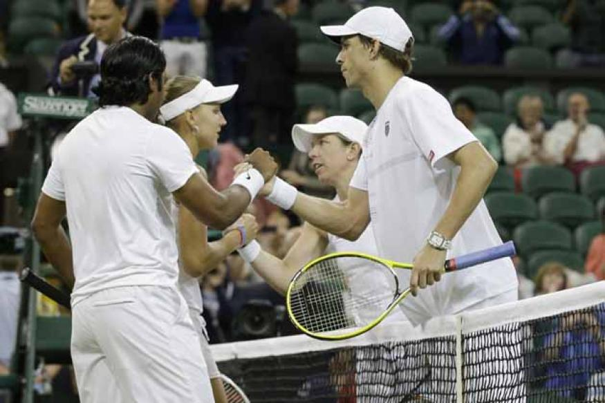 Valiant Paes-Vesnina lose Wimbledon final