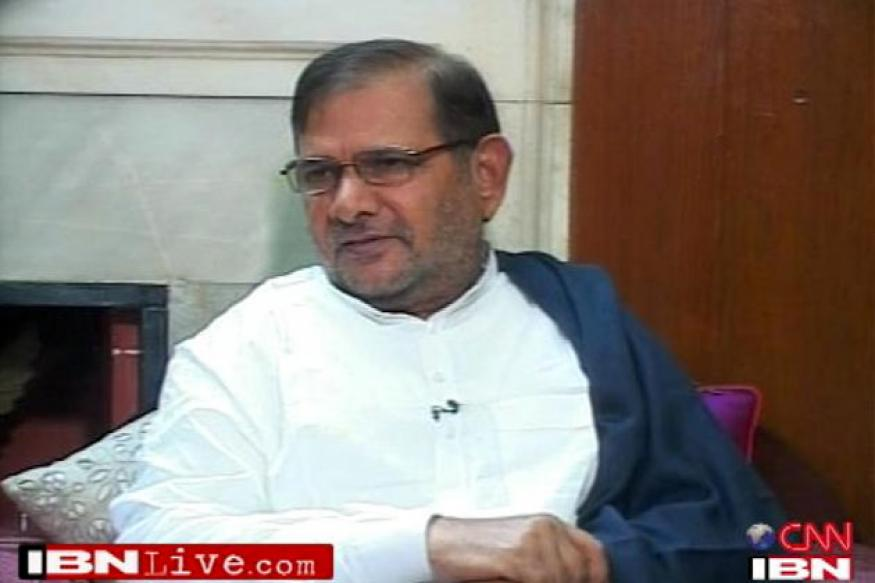 Move on to field Sharad Yadav against Hamid Ansari