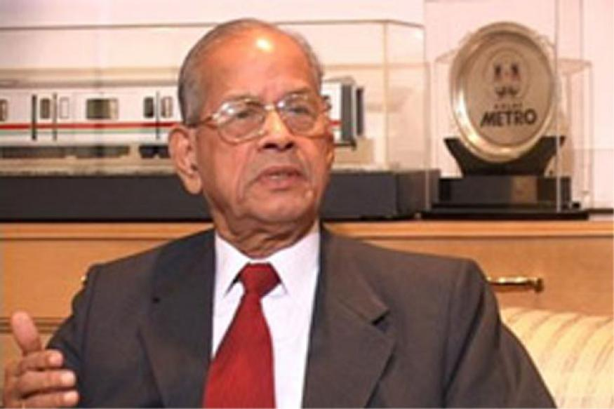 It's official: Sreedharan to head Kochi Metro