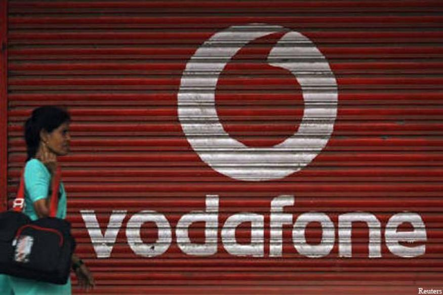 Vodafone organic growth hit by India, UK slowdowns