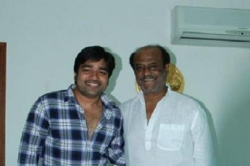 Rajinikanth encourages Shiva for 'Thillu Mullu'