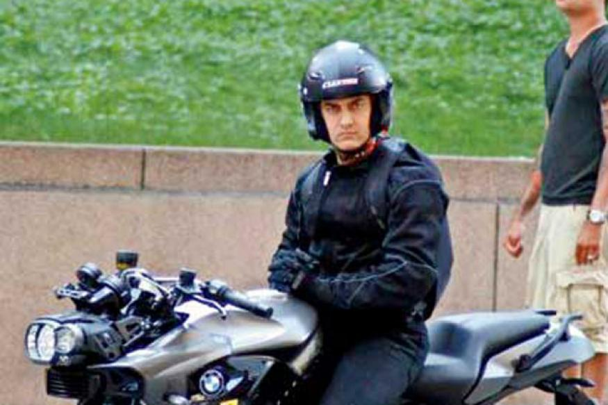 In pics: Check out Aamir Khan's 'Dhoom 3' look