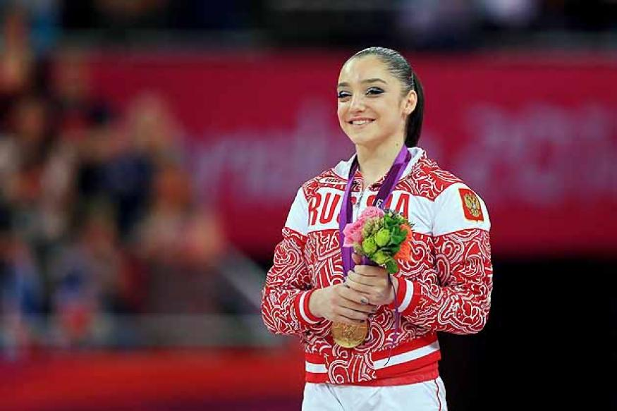 Olympics: Mustafina wins gold in gymnastics