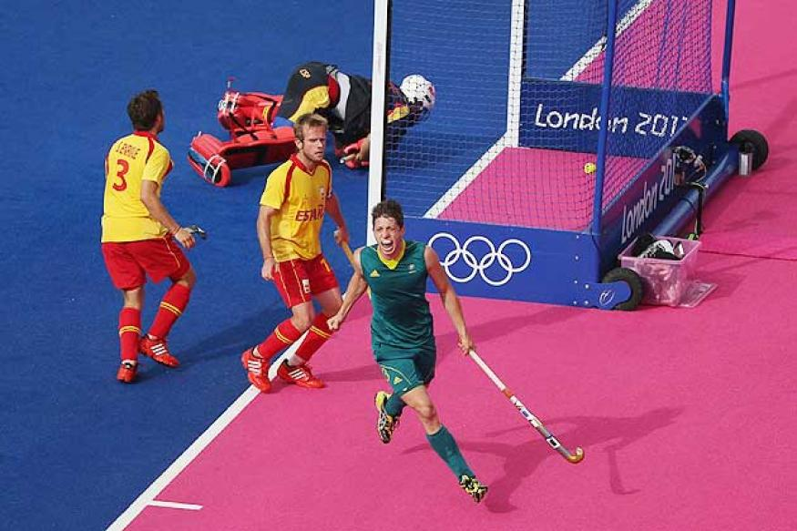 Olympics: Australia beat Spain in men's hockey