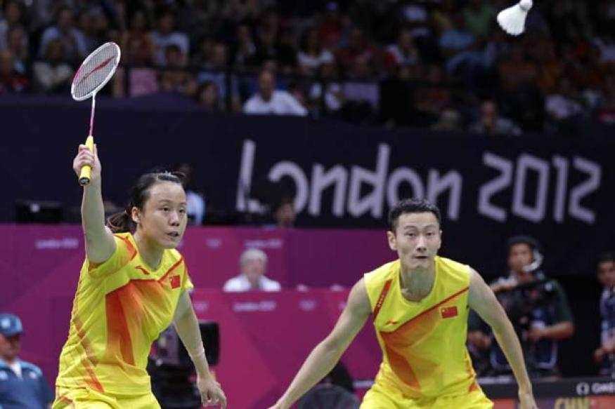 Nan-Yunlei win badminton mixed doubles gold