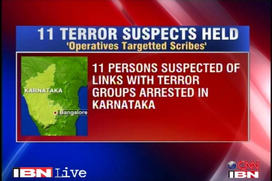 B'lore terror suspects sent to 14-day police custody