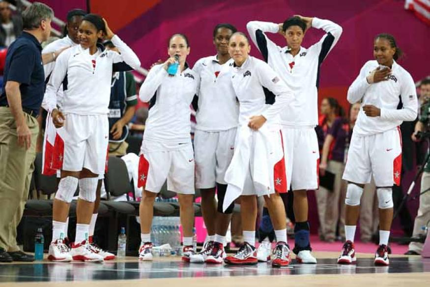 USA women win 5th straight basketball gold