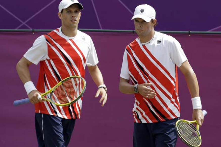 Bryan brothers win Olympic tennis gold