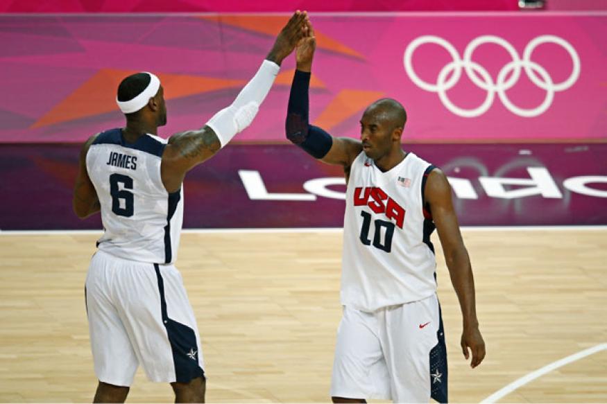 Olympics: USA overwhelm Australia in basketball