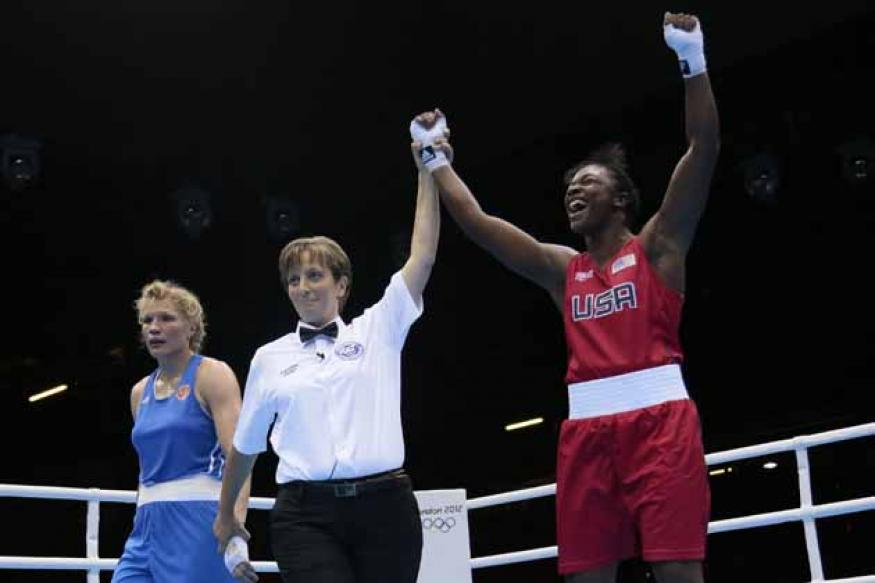 Only 17, Claressa wins gold in women's boxing