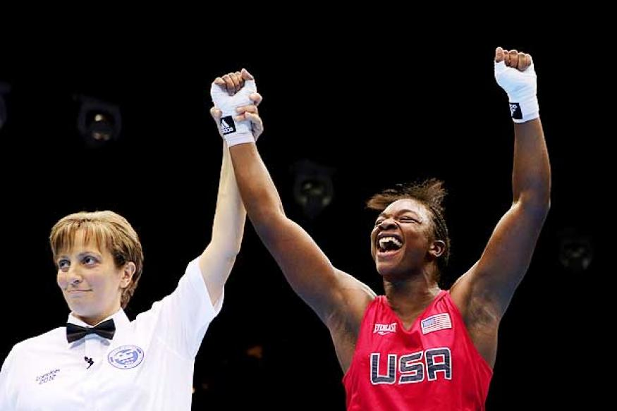 USA's Shields wins gold in middleweight boxing