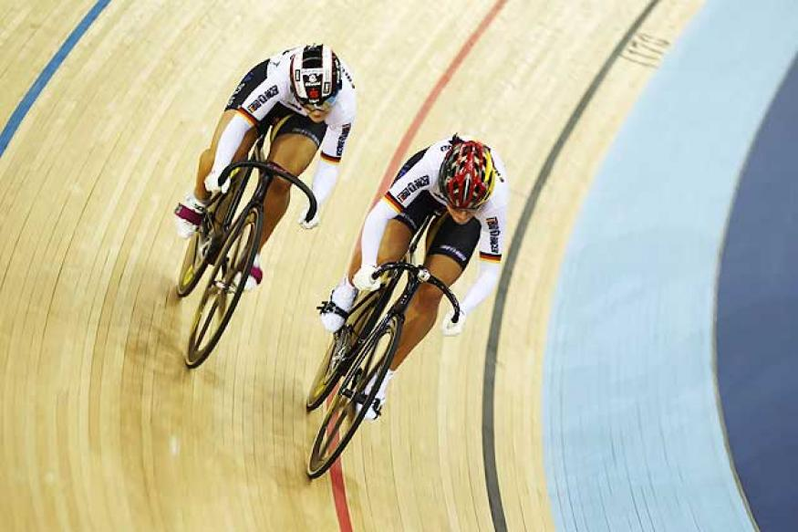 Olympics: Germany win gold in team sprint