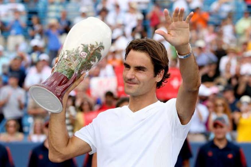 Federer beats Djokovic for 5th Cincinnati title
