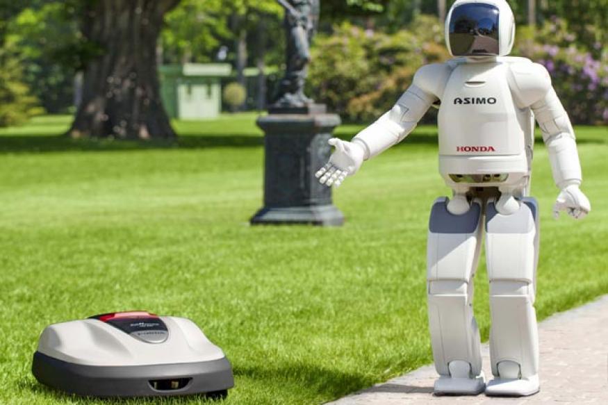 Honda unveils a robotic lawn mower 'Miimo'