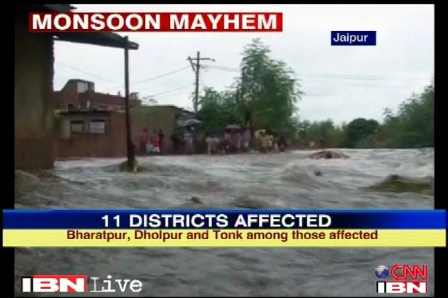 Rains play havoc in the north, 33 dead in Rajasthan