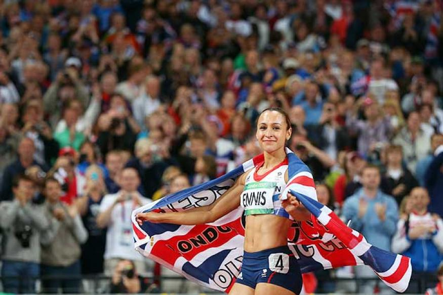 Olympics: Jessica Ennis wins gold in heptathlon