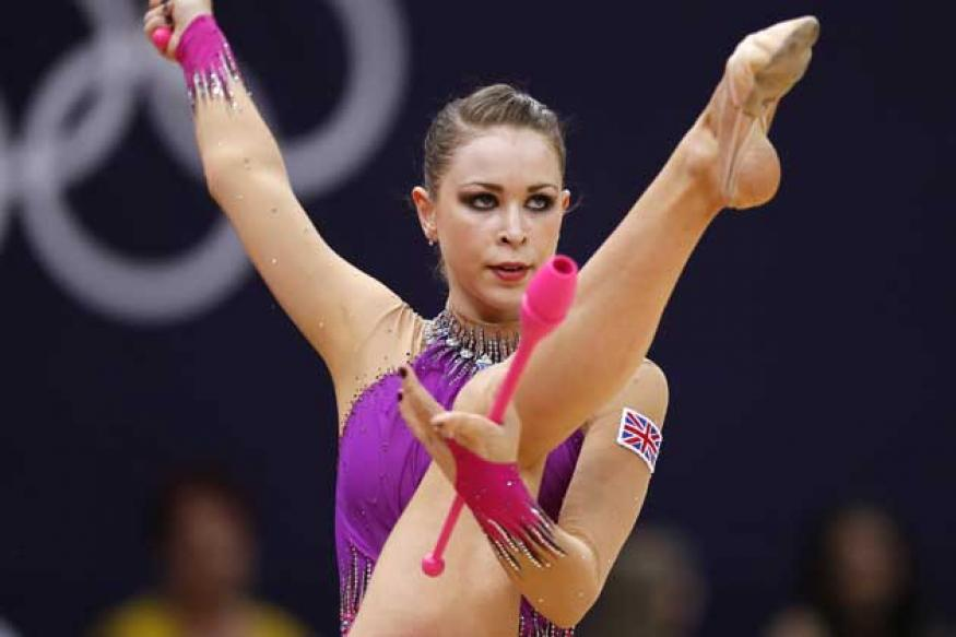 London 2012 Rhythmic gymnastics: Jones flops
