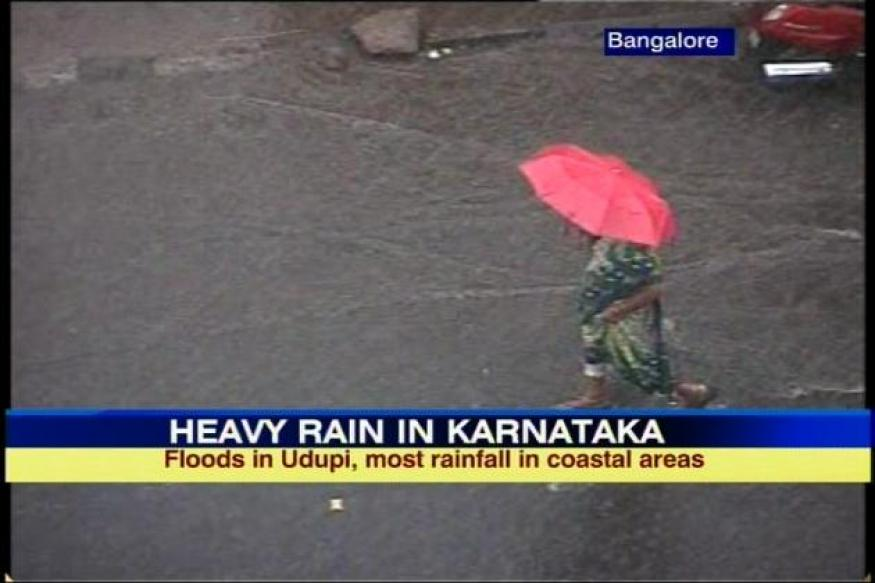 Heavy rains lash coastal K'taka, Udupi flooded