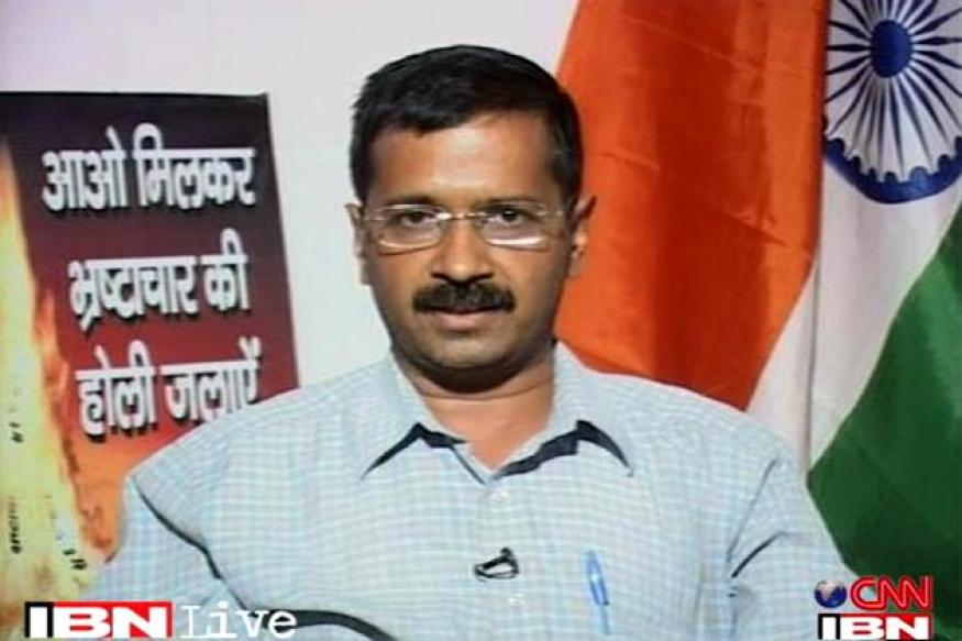 All parties together in corruption: Kejriwal