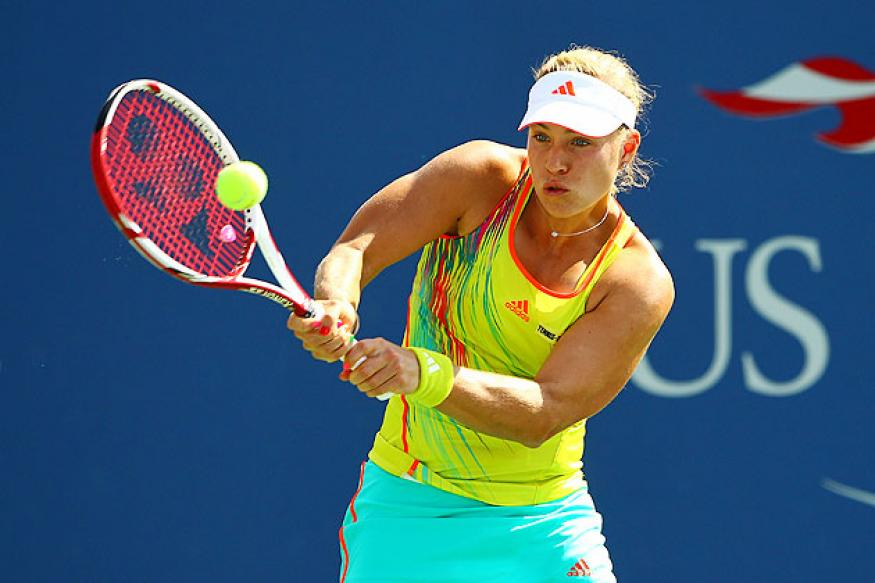 Kerber defeats Keothavong in 2 sets at US Open