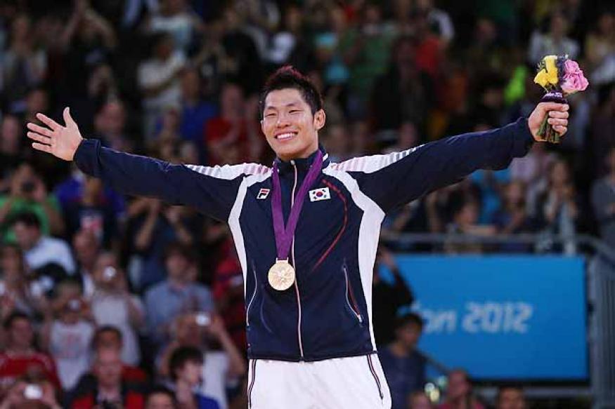 Olympics: Kim wins gold in men's 81K judo