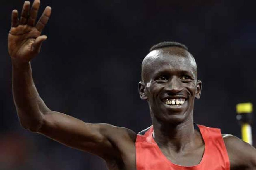 Kemboi wins 3,000m gold in steeplechase
