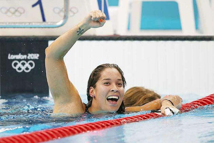 Olympics: Ranomi wins gold in 100m freestyle