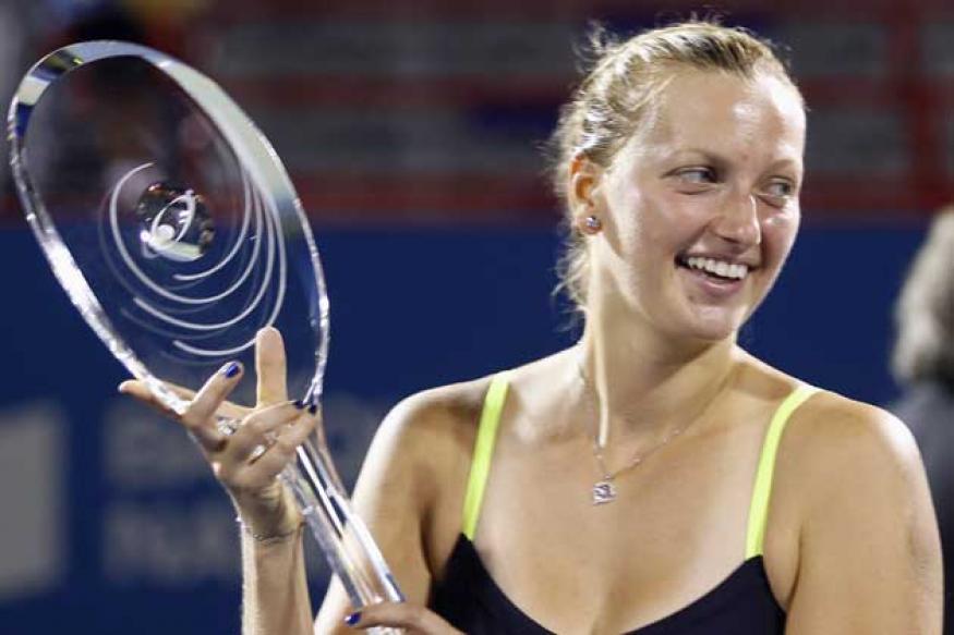 Kvitova overcomes slump to win Montreal title