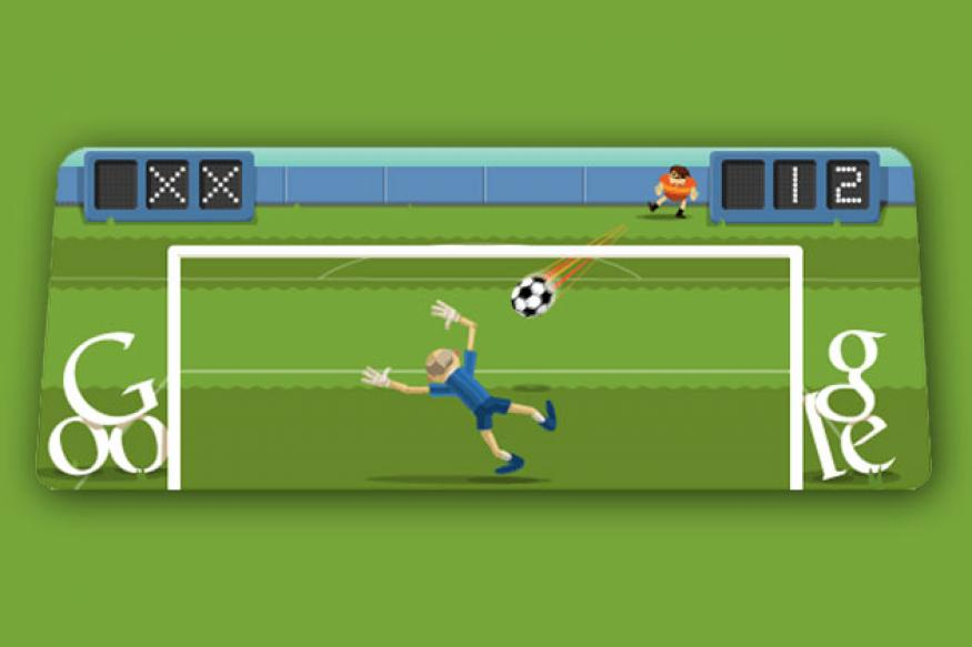 How to play London 2012 football Google doodle