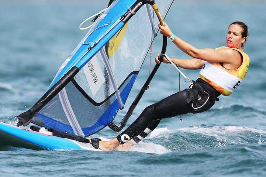 Olympics: Spain's Alabau wins windsurfing gold