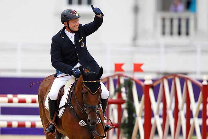 German Jung wins individual eventing gold