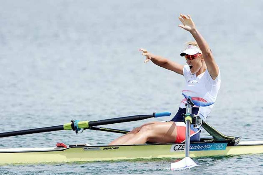Olympics: Knapkova wins gold in single sculls
