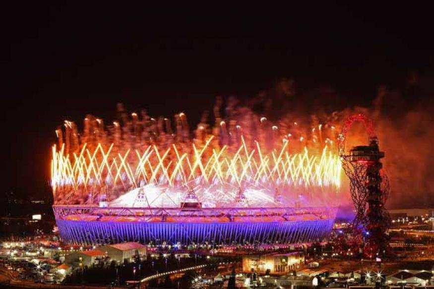 London Olympics end with a musical party