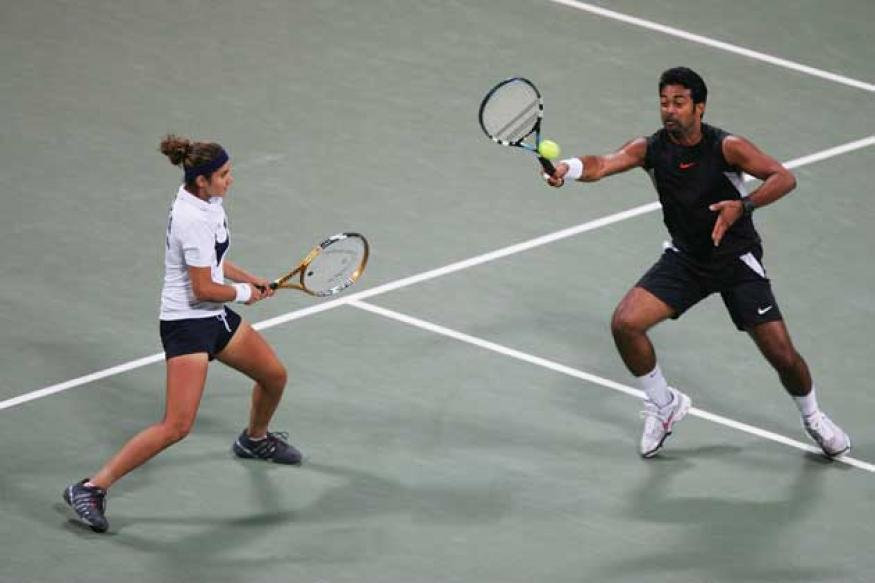 Olympics: Paes-Sania enter mixed doubles QF