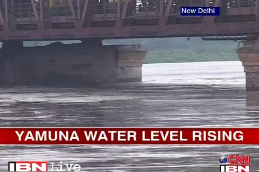 Delhi rains: Yamuna water level steadily rising
