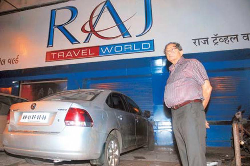 Why did Raj Travels owner walk 2 km before killing himself?