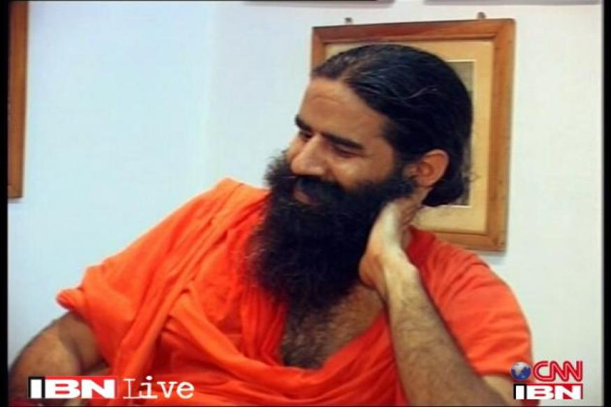 UK: March organised in support of Baba Ramdev