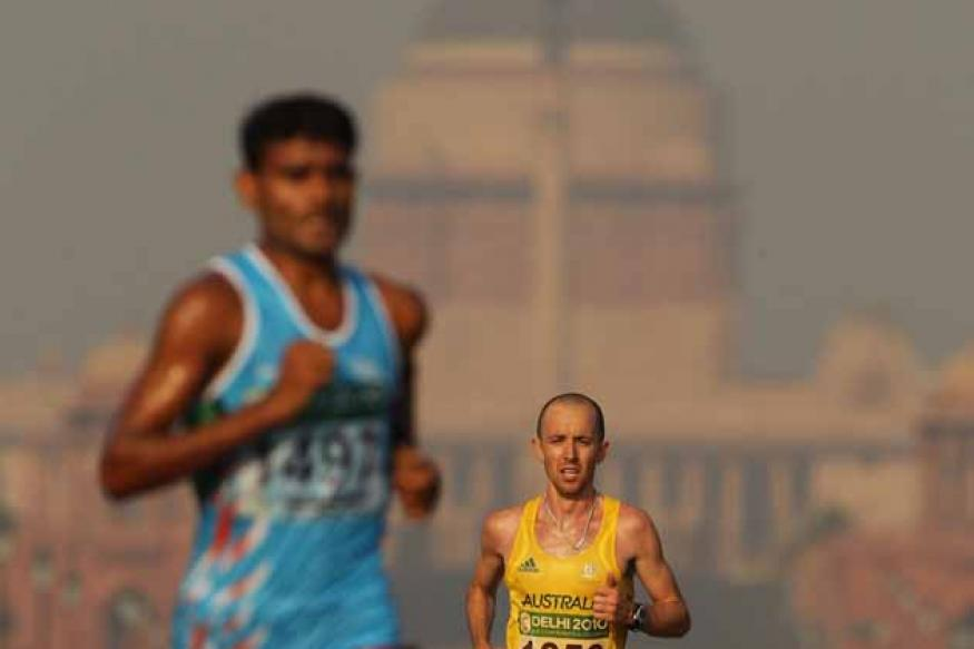 Ram Singh finishes 78th in men's marathon